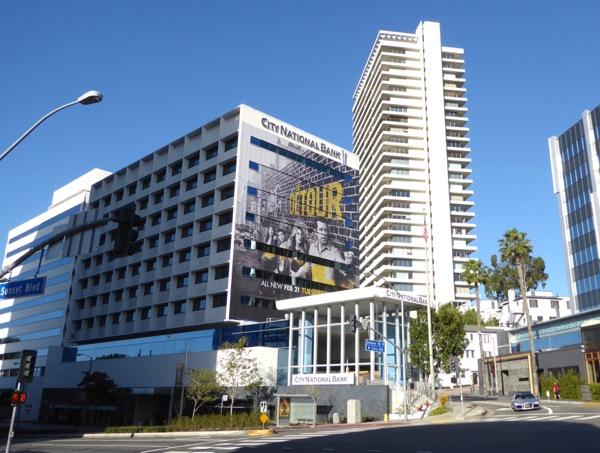 Detour season 2 giant billboard Sunset Strip