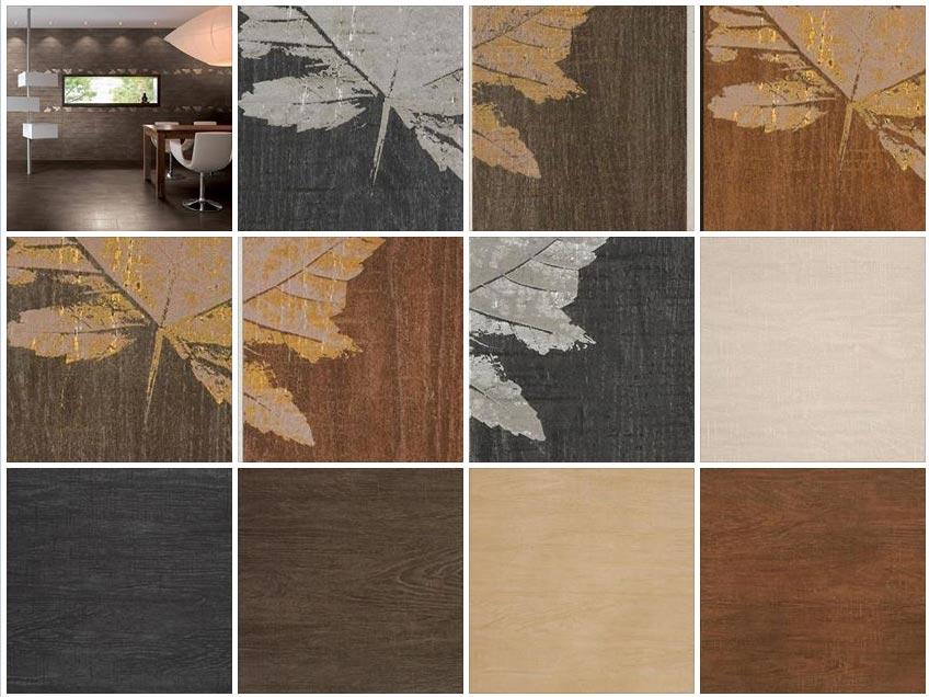 Rustic Floor Tiles Kitchen