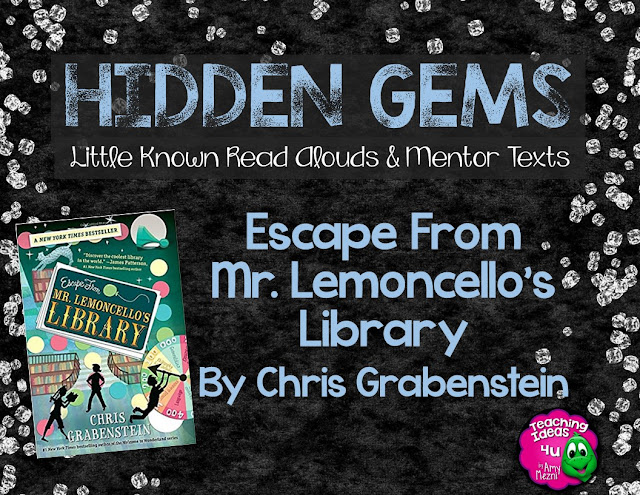 Escape From Mr. Lemoncello's Library by Chris Grabenstein is a terrific novel for 4th, 5th, and 6th grade readers. Read the blog to find out how this book could be used to teach character development and plot in a language arts class.