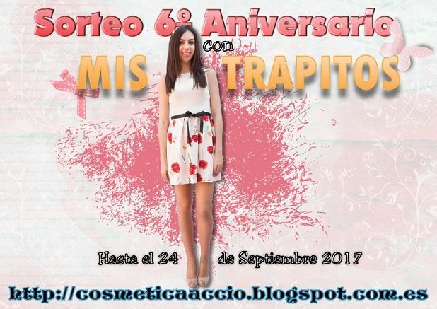 ¡SORTEO del 6º Aniversario del blog con MIS TRAPITOS!