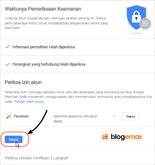 Cara Mendapatkan Kode Cadangan Verifikasi Gmail