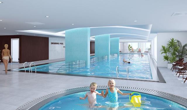 Bể bơi tháp Doanh nhân