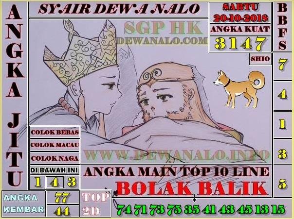 Syair Dewa Nalo SGP