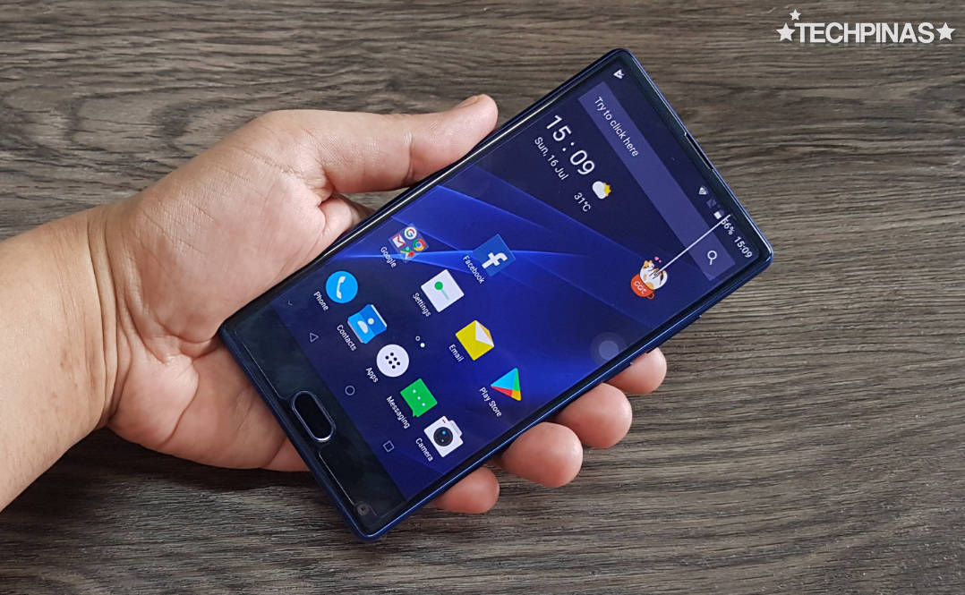 Doogee Mix Aurora Blue
