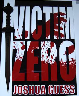 Portada del libro Victim Zero, de Joshua Guess