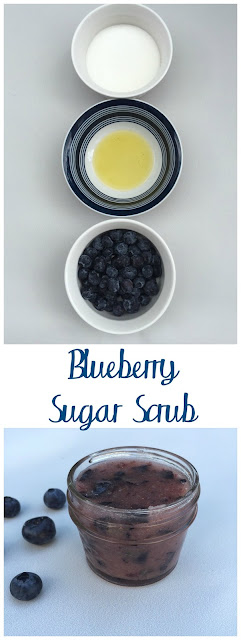 Blueberry Sugar Scrub DIY