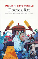 Portada de Doctor Rat de William Kotzwinkle