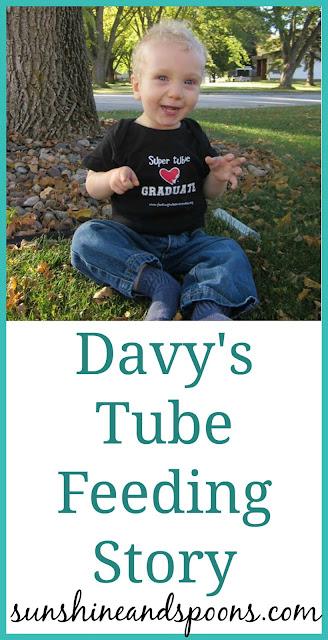 Davy's Tube Feeding Story