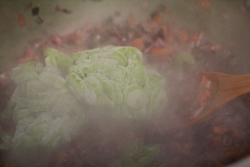 frozen celery for extra flavour