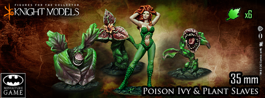 POISON IVY & PLANTS SLAVES Knight models