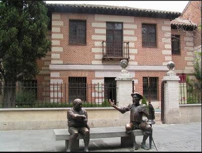 Casa de cervantes con alcaleando Alcalá