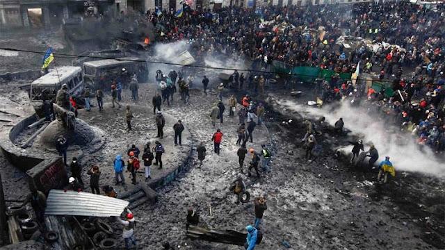 ucrania, caos,