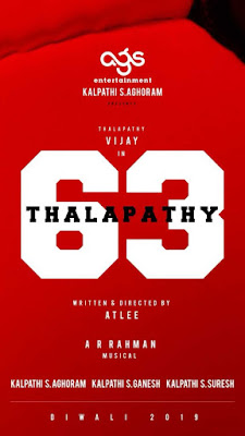 Thalapathy 63 First Look