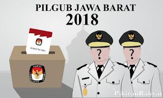 Nomor Urut Pasangan Calon Gubernur-Wakil Gubernur Jabar 2018