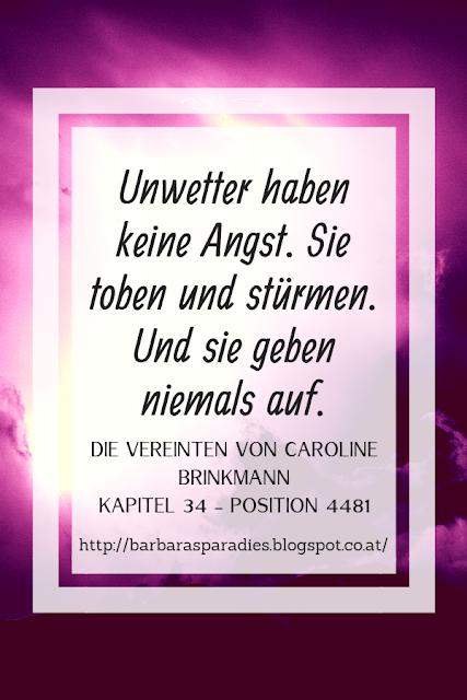 Buchrezension #242 Die Vereinten von Caroline Brinkmann