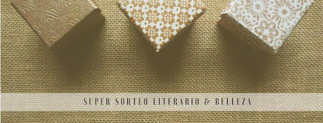 Sorteo de una caja/sobre literaria y una de belleza