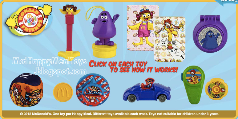 Mcdonalds Current Happy Meal Toys 19