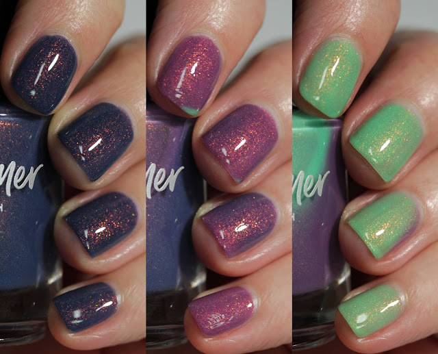 KBShimmer Best Buds swatch by Streets Ahead Style