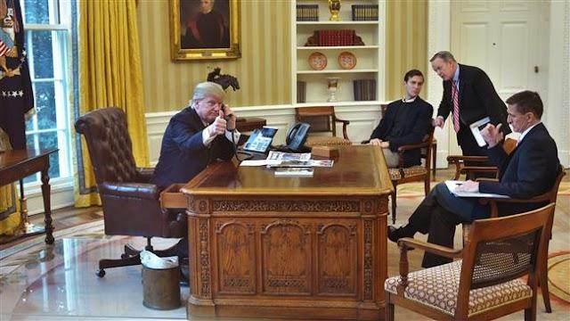 Saudi King Salman, US President Donald Trump talk on how to face Iran, fight terrorism