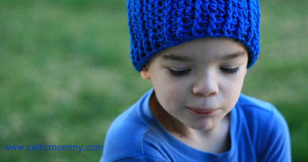 Celticmommy Free Crochet Pattern Rib Wrapped Cap For