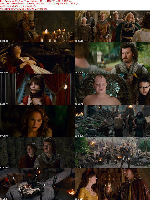 Your Highness (2011) Extendida BRRip HD 720p Latino Dual