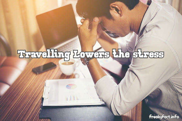 Travel lowers stress levels