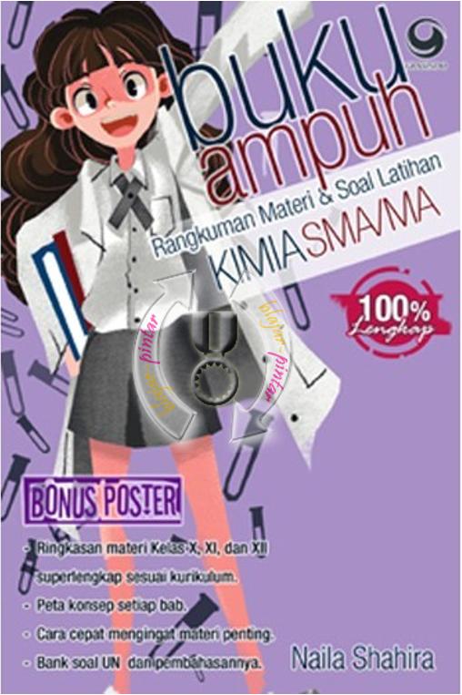 Buku Ampuh Kimia SMA/MA Kelas 10, 11 dan 12 + Poster.
