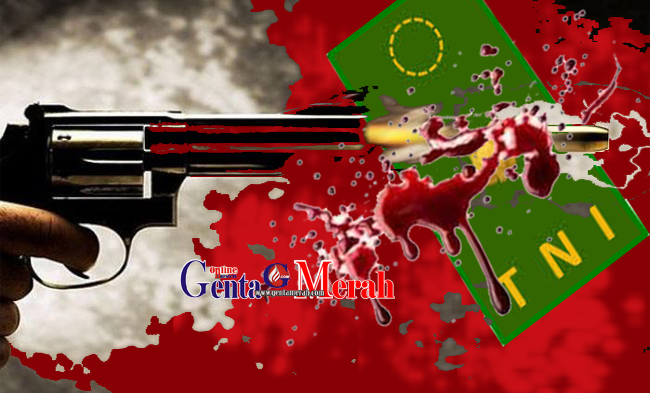 Aksi Penembakan Orang Tidak Dikenal Menewaskan Letkol Dono Dalam Randisnya