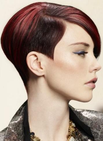 nuevos cortes de pelo corto lacio para mujeres