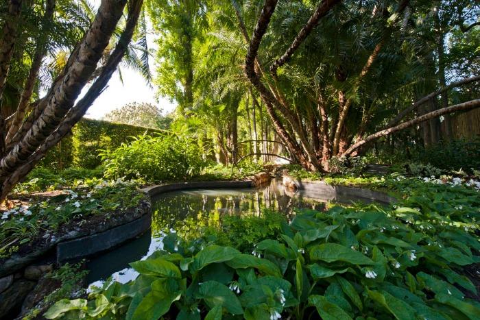 Stellenberg Gardens, estanques