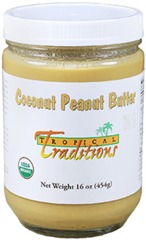 Tropical Traditions Coconut Peanut Butter