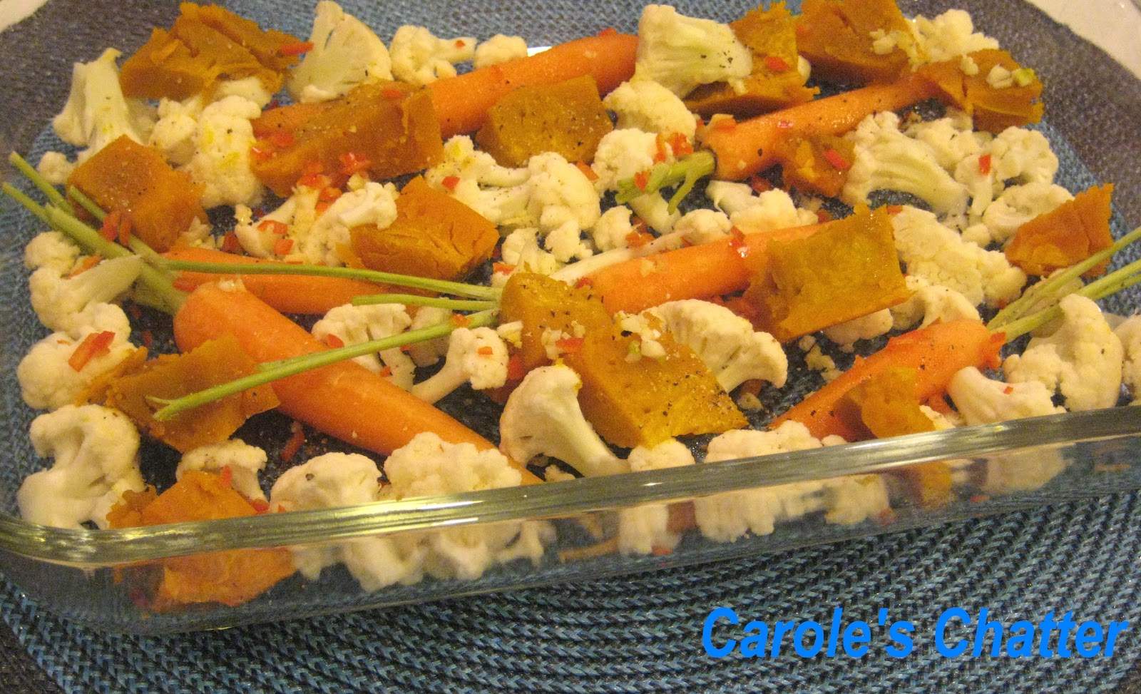 Carole S Chatter Medley Of Roasted Veggies