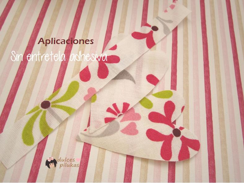Trucos para coser aplicaciones sin entretela