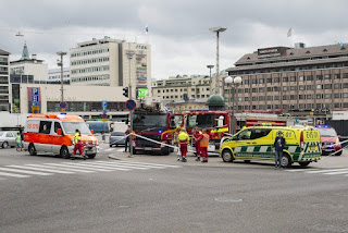 More terror in Europe: a knife attack in Finland left at least two dead and six wounded