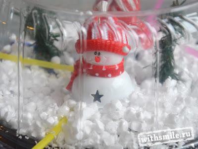 Kids craft snowmen. Breathing exercises for children. Детская зимняя поделка со снеговиками, дыхательная гимнастика для детей.