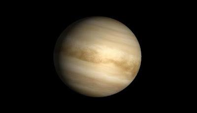 Garis-garis Gelap di Venus Adalah Mikroba Alien?