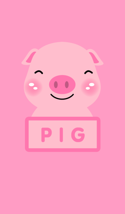 Simple Pink Pig theme v.1