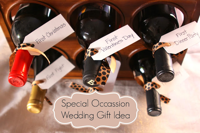 Our Pinteresting Family: Special Day Wedding Gift Idea