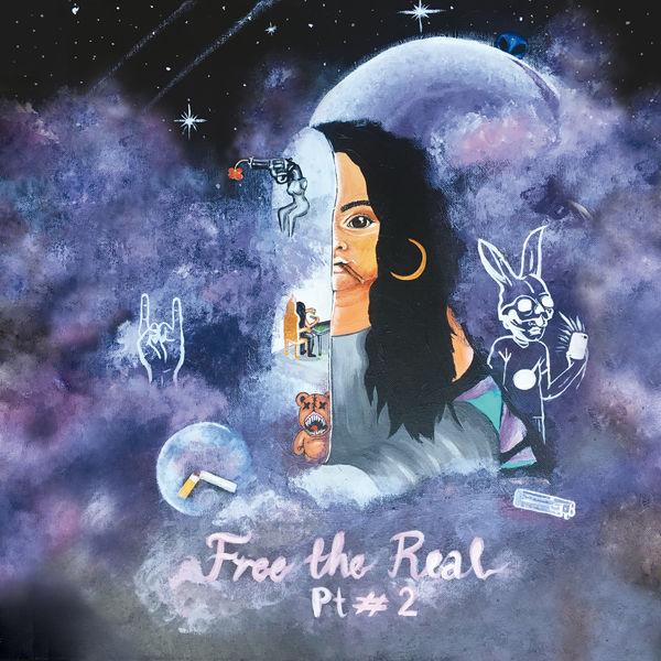 Bibi Bourelly - Free the Real, Pt. #2 - EP Cover