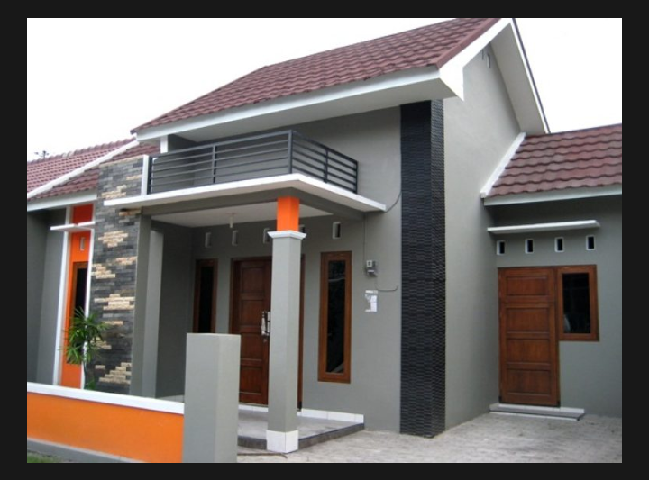 91 Gambar Warna Cat Exterior Rumah HD