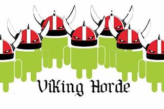 Okostelefon vírus a Viking horda