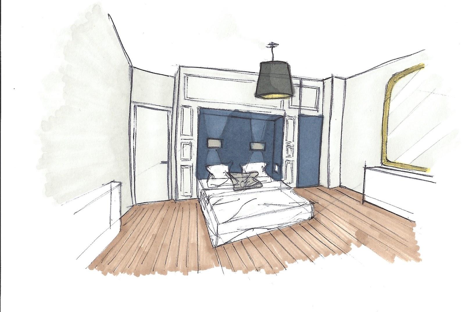 Chambre En Perspective Cavaliere | Great La Notion De Perspective ...
