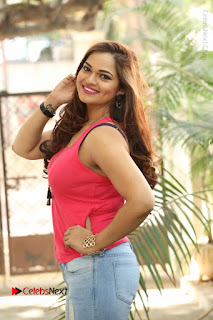 Tollywood Actress Ashwini Latest Stills in Ripped Jeans  0015.JPG