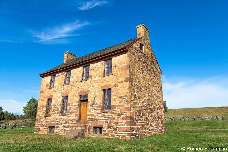 Stone House Manassas National Battlefield Park Northern Virginia
