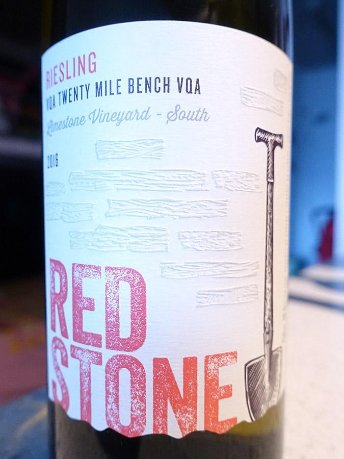 Redstone Limestone Vineyard South Riesling 2016 (89 pts)
