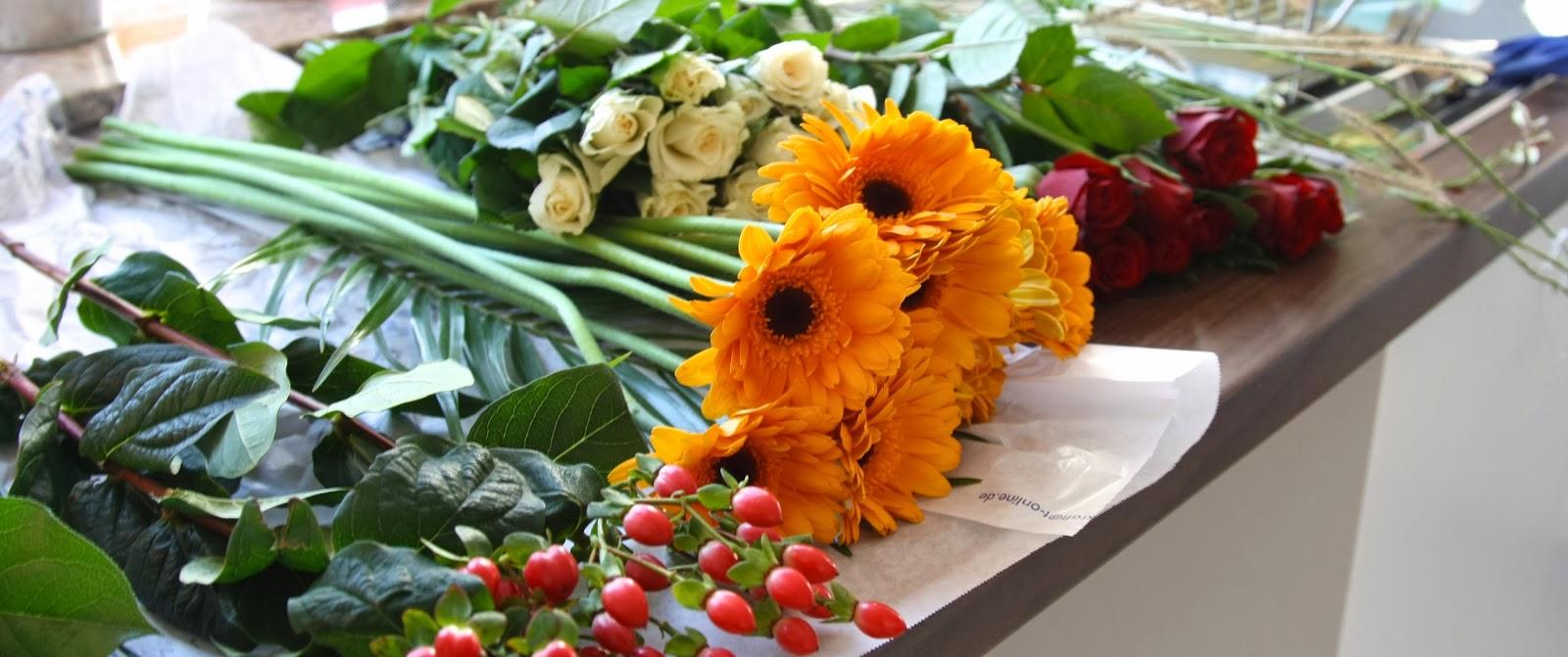 Tschessilicious Ideen Zum Verschenken 24 Blumen Binden