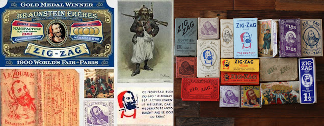 History of Le Zouave - Zig-Zag, Random Stuff You May Not Know by Omar Cherif, One Lucky Soul