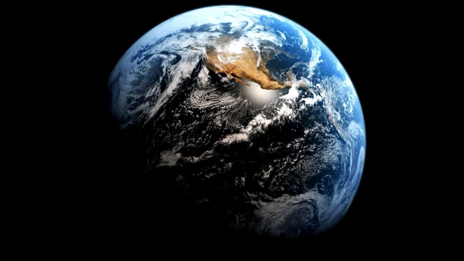 Earth From Space Wallpaper 1920x1080 Hd Wallpaper For Desktop