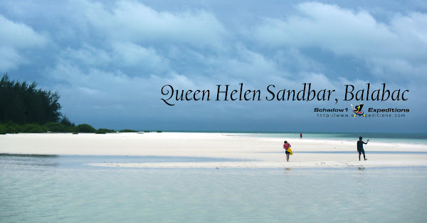 Queen Helen Sandbar Balabac - Schadow1 Expeditions