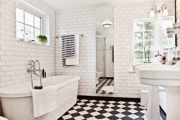 Cómo distribuir y sacar el máximo partido a un baño pequeño?